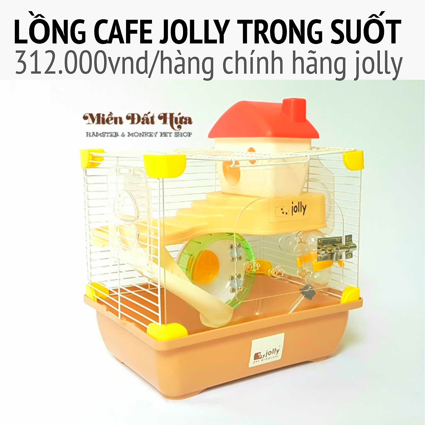 lồng hoàng tử cafe jolly trong suốt 360