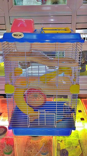 LỒNG HAMSTER NEW-AGE 2 TẦNG