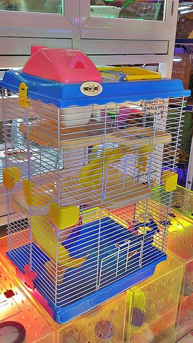 Lồng hamster mier-pet 3 tầng size lớn