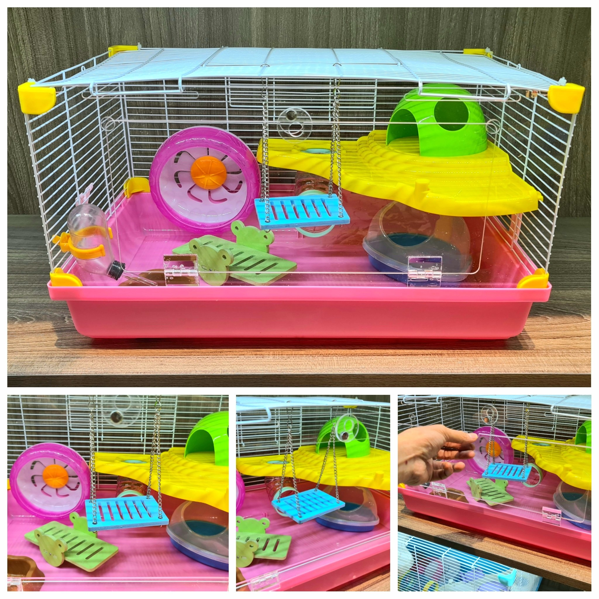 Lồng trứng đại cửa trong suốt full toy size 47.36.30